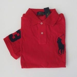 Ralph Lauren SS Classic Fit Big Pony Polo Shirt